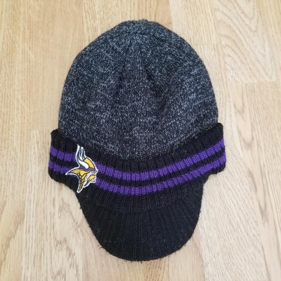 ab0ba51f3 Minnesota Vikings Stocking Hat With Brim. M 5ae37376caab4476b81b1bad. Other  Accessories ...
